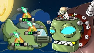 Plants Vs Zombies Star Wars - Level 1 Completed Battle With Dr Zomboss - PVZ Tower Defense