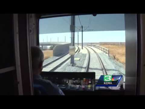 Sacramento Light Rail opens new 'Blue Line'