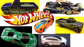 New 2017 Hot Wheels News: Green Ford GT, Porsche GT2, Datsun Trucks And More!