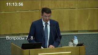 Смотреть видео Закон о КОНТРСАНКЦИЯХ и ответных мерах России....1е чтение. онлайн