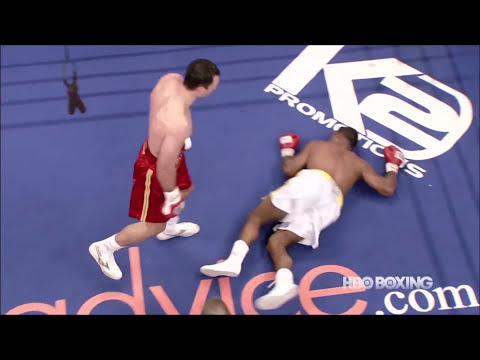 Wladimir Klitschko Jab, Left Hook and Straight Right Hand