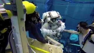 Astronauts training underwater at NASA | GoPro footage