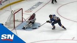 Ryan O'Reilly, Jordan Binnington Shine For Blues In Shootout vs. Avalanche