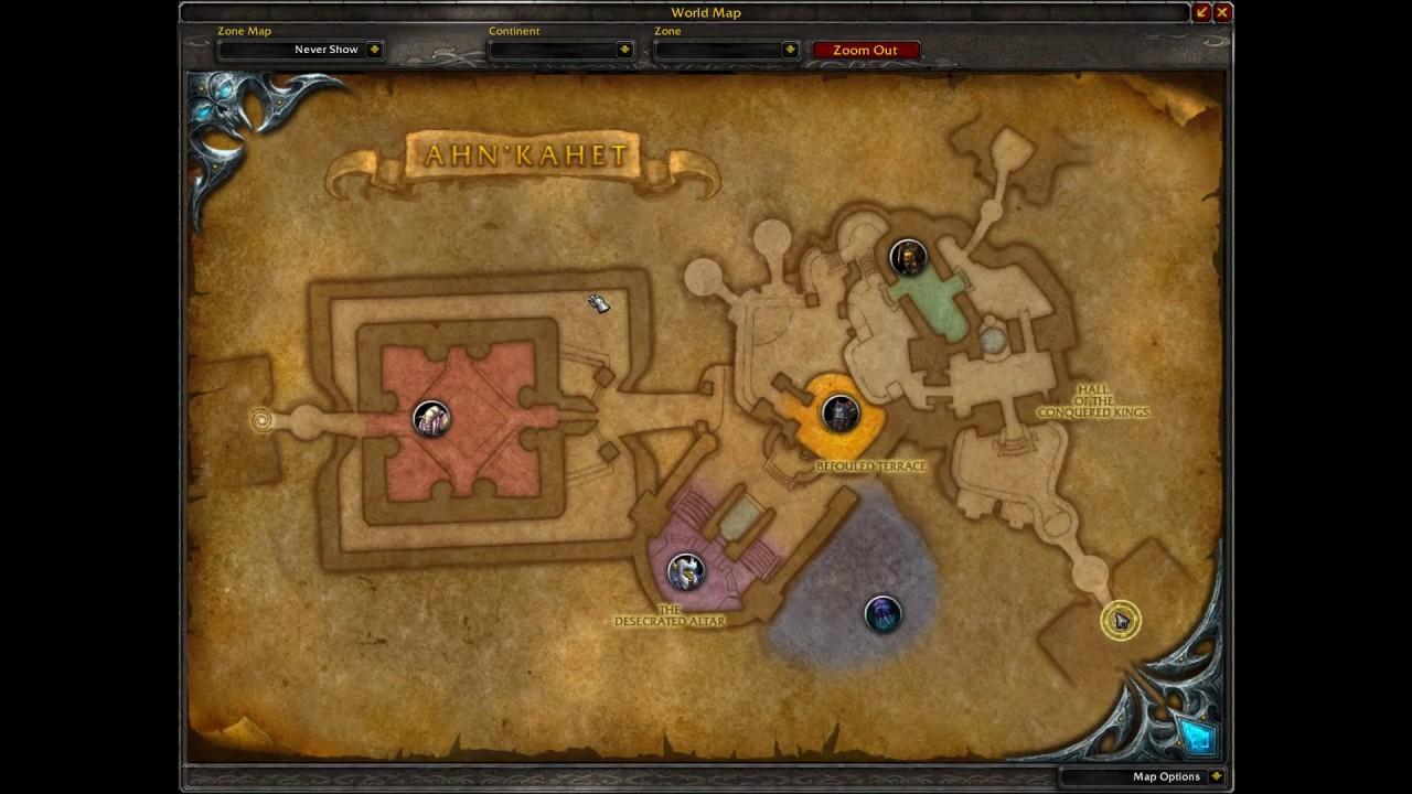 World Of Warcraft Entrance Ahn Kahet The Old Kingdom