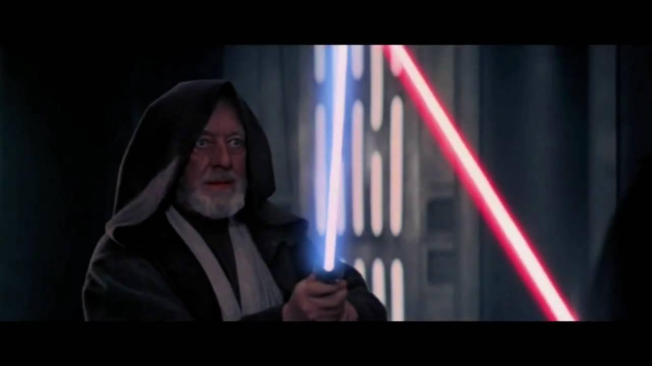Obi Wan Kenobi Vs Darth Vader Hd Youtube