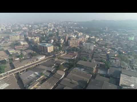 Aerial view ,Ulhasnagar