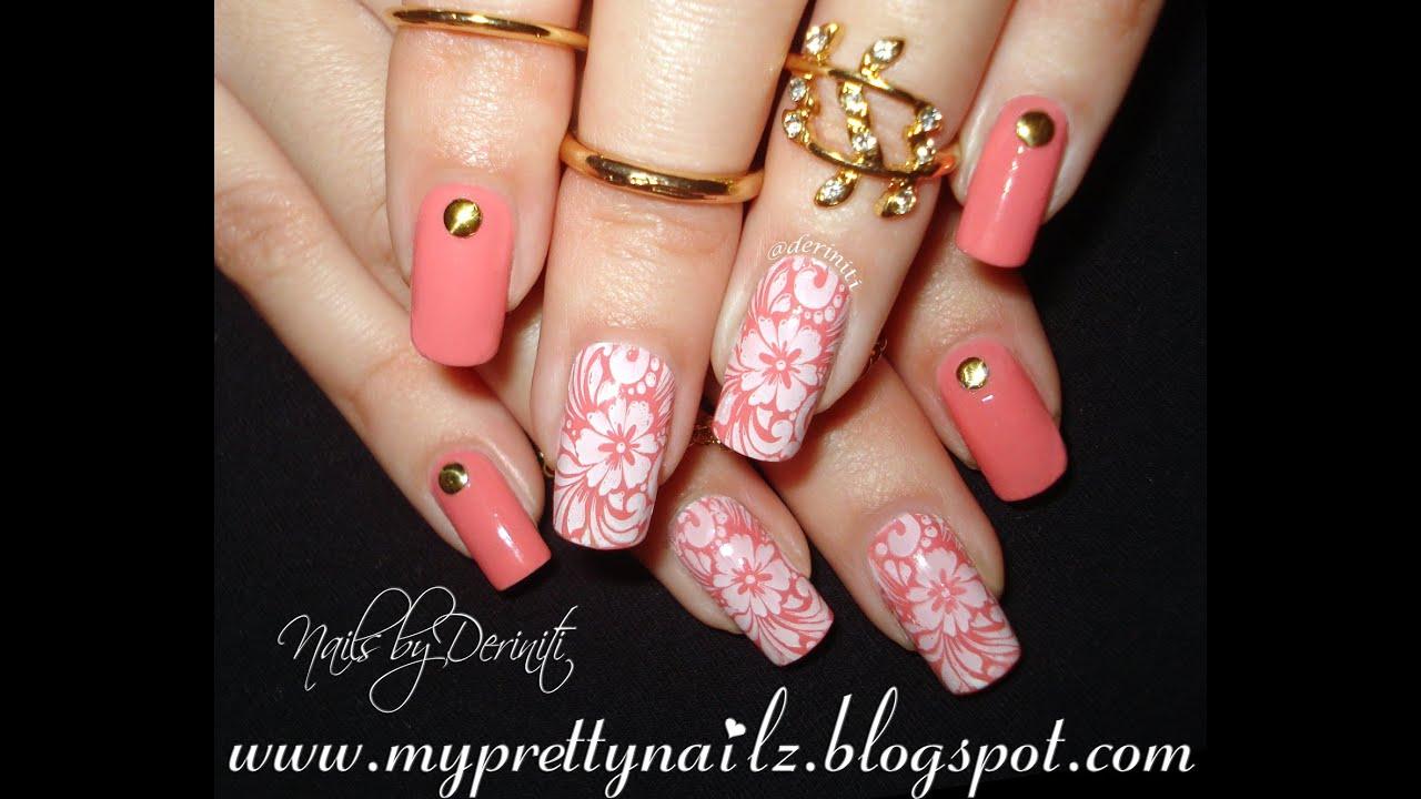 easy beginner peach spring summer