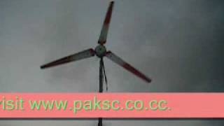 Pakistan Science Club wind turbine