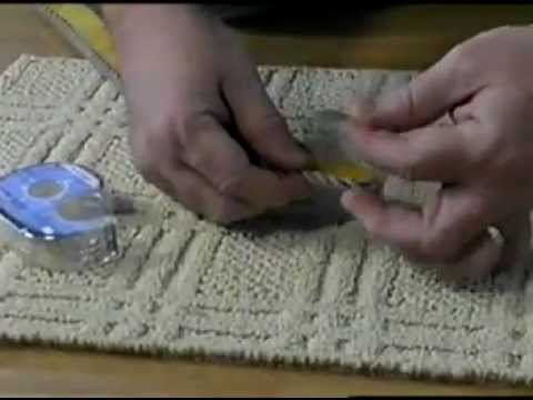 How To Apply Instabind Diy On Site Carpet Binding Youtube