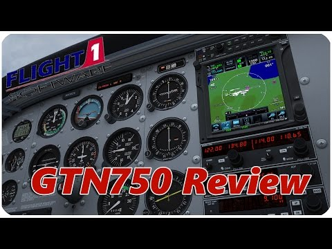 Flight1 GTN750 Review and Overview