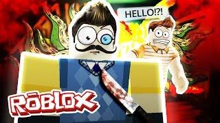 Roblox Adventures / Hello Neighbor / SECRET ENDING?!