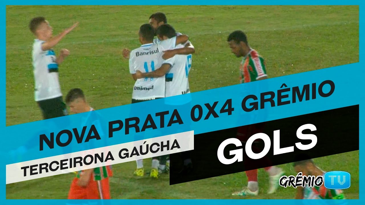 85367d3f24927 GOLS  Nova Prata 0x4 Grêmio (Terceirona Gaúcha) l GrêmioTV - YouTube