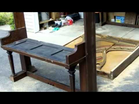 Piano To Table Conversion   YouTube