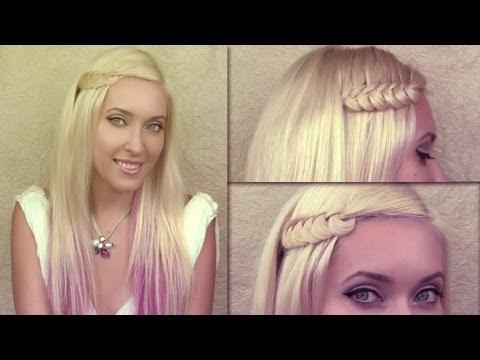 Прически на каждый день с плетением на длинные волосы своими руками