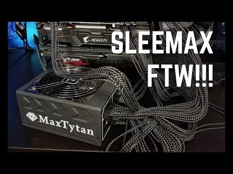 Enermax MaxTytan and RevoBron Power Supply Review