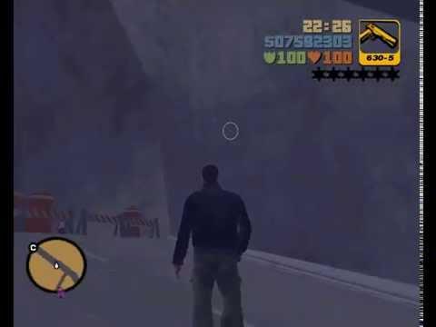 GTA 3 - Как Увидеть Город-Призрак! [Баг Со Снайперской Винтовкой]