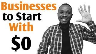 How to Start a Small Business From Home With No Money