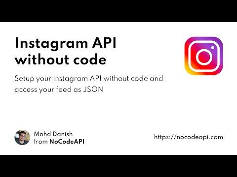 Setup Instagram API Without Code #api #instagram