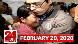 24 Oras Express: February 20, 2020 [HD]