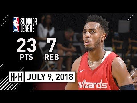 Troy Brown Jr Full Highlights vs 76ers (2018.07.09) Summer League - 23 Pts, 7 Reb, BALLING!