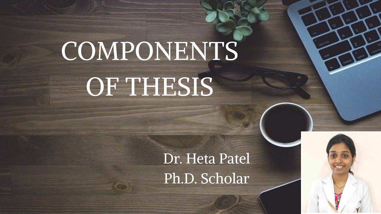 Order and Components - Thesis and Dissertation Guide - UNC-Chapel Hill Graduate School