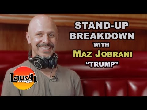 "Stand-Up Breakdown with Maz Jobrani ""Trump"" 