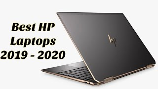 Best HP Laptops to buy in 2019 - 2020