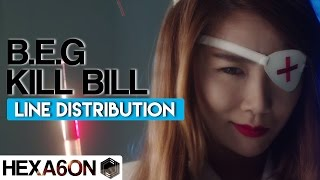 Download Brown Eyed Girls - Kill Bill Line Distribution (Color Coded) MP3 song and Music Video