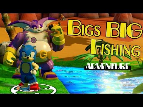 Lego Sonic Dimensions Bigs BIG Fishing Adventure 4 Side Mission