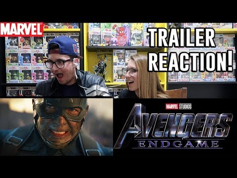 AVENGERS: ENDGAME - OFFICIAL TRAILER #2 - REACTION!!