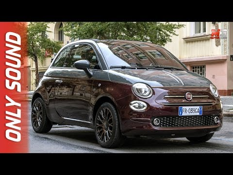 NEW FIAT 500 COLLEZIONE 2019 - FIRST TEST DRIVE ONLY SOUND