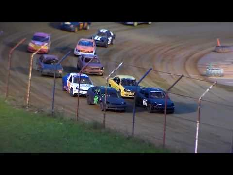 Dog Hollow Speedway - 10/21/17 Four Cylinder Heat Race #1