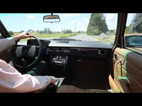 1976 Mercedes W115 240D Road Test:  Why Does it Handle Sooooo Well?