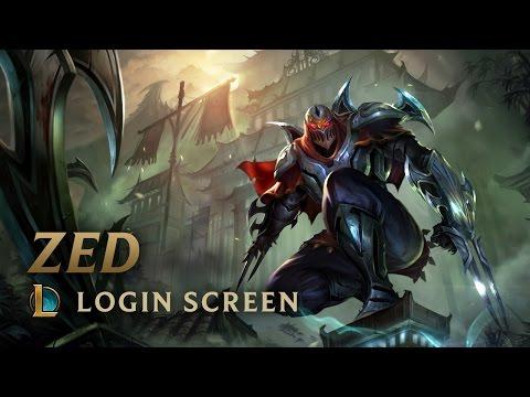 zed login screen