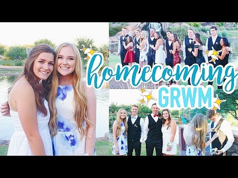 Get Ready With Me | Senior Homecoming 2017