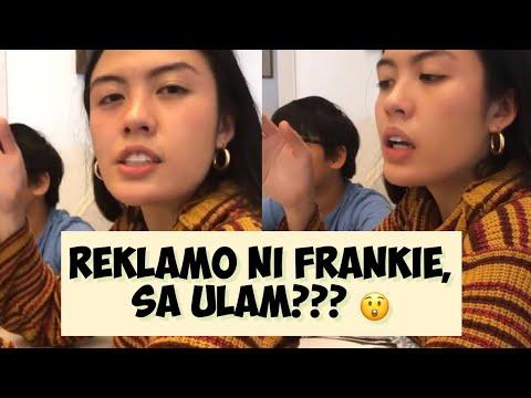 Download Ganito mag reklamo ang anak ni Mega na si Frankie pag hindi type ang ulam!