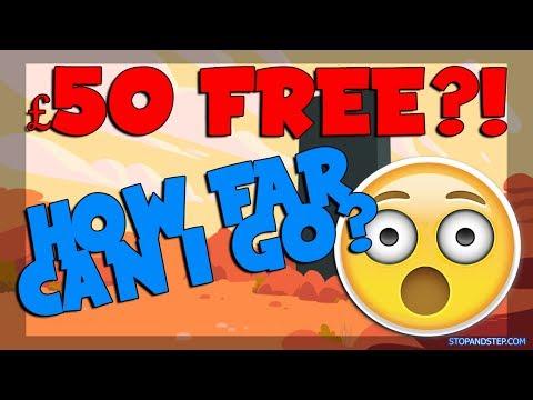 £50 Free Bonus How Much Can I WIN?