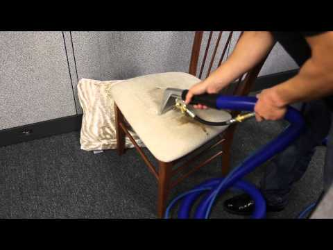 How To Steam Clean Carpet And Furniture With Daimer Cleaning Equipment