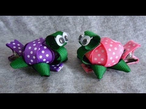 tiny 3d turtle ribbon sculpture