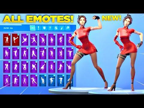 *NEW* DEMI SKIN Showcase with All Fortnite Dances & Emotes Fortnite Season 9 Skin