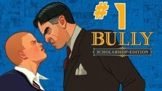 Let´s Play Bully Dİe Ehrenrunde Part 1 [Deutsch/HD/BLIND] - Bully Scholarship Edition