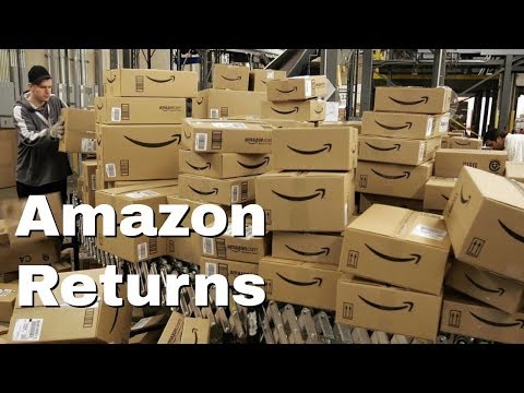 Amazon FBA For Beginners - What do you do with all your returns?