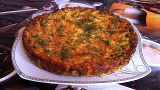 Пирог с Грибами/Заливной пирог/Pie With Mushrooms/Заливной Грибной Пирог/Простой Пошаговый Рецепт