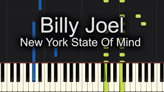 Play Billy Joel New York State Of Mind on Piano! - Sheet Music Available!