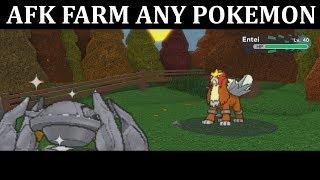 (PC) HOW TO AFK FARM ANY LEGENDARY/POKEMON | - Pokémon Brick Bronze | Roblox