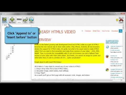 Easy HTML5 Video Tutorial: