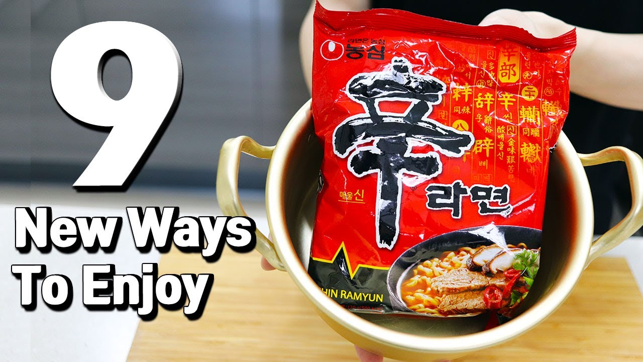 9 New Ways To Enjoy Korean Ramyun Ramen Recipes Hack Youtube