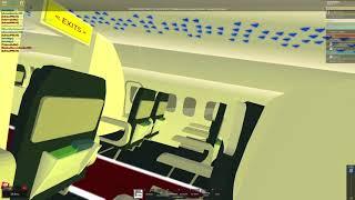 ROBLOX - France Liaison Airlines Atterrissage et décollage. LA 104 Hilo - Utarom