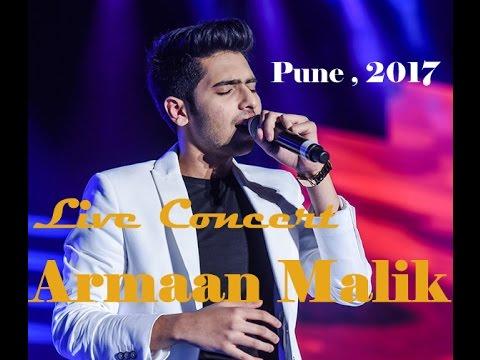 Armaan Malik soulful live performance 2017 | Pimple Saudagar | Pune .