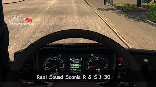 [ETS2. V1.30]...PDT...Real Sound Scania R & S 1.30